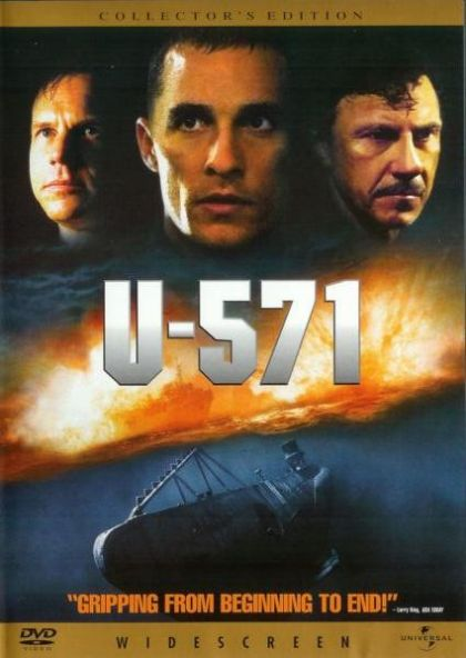 a review of u 571 a movie on world war ii Read the u-571 movie synopsis in this world war ii action thriller is your destination for new movie trailers, reviews, photos, times.