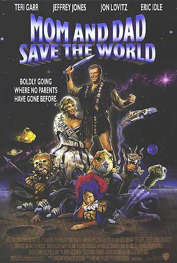 Mom and Dad Save the World affiche