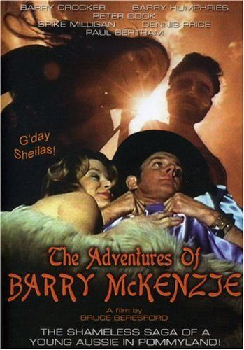barry mckenzie holds his own dvd