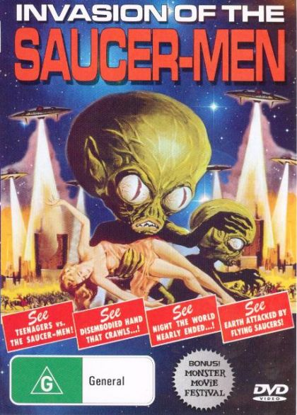 Consider, invasion of the saucer men movie