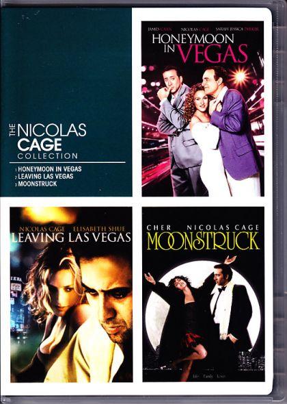 Nicholas Cage Triple Feature: Honeymoon In Vegas / Leaving