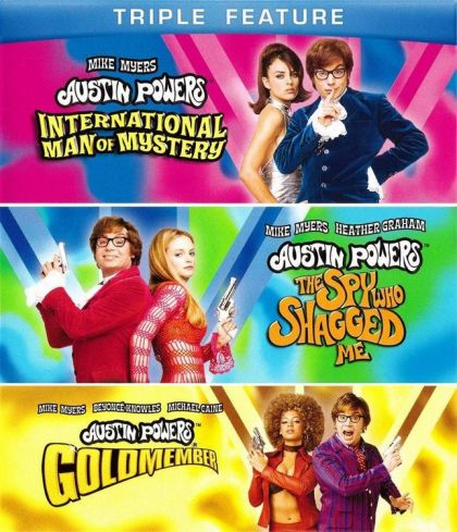Austin Powers Triple Feature International Man of Mystery