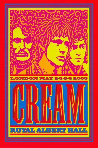 cream royal albert hall london may 2 3 5 6 2005 2005 on core movies. Black Bedroom Furniture Sets. Home Design Ideas