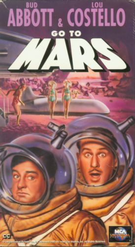 Abbott and Costello Go to Mars (1953) on Collectorz.com ...