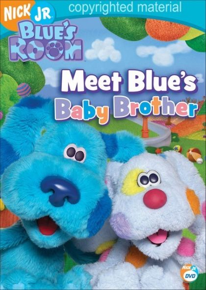 Blue S Room Meet Blue S Baby Brother Dvd