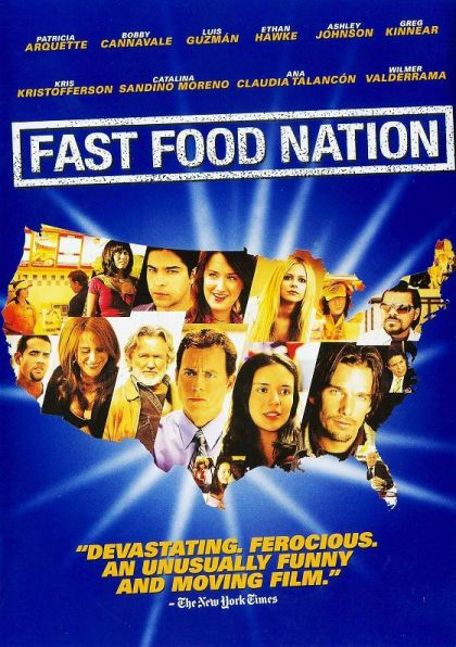 Fast Food Nation Book Cover : Fast food nation on collectorz core movies