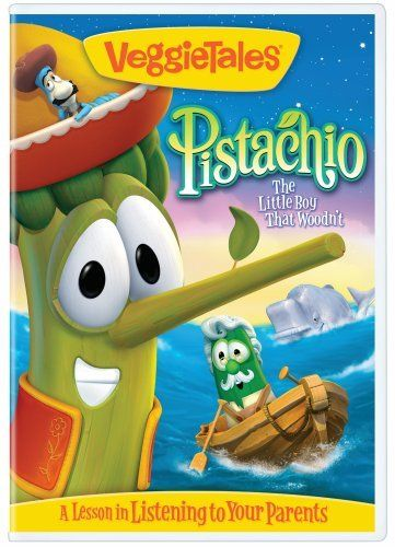 Veggietales pistachio 2010 on movie collector connect for Veggietales pistachio coloring pages