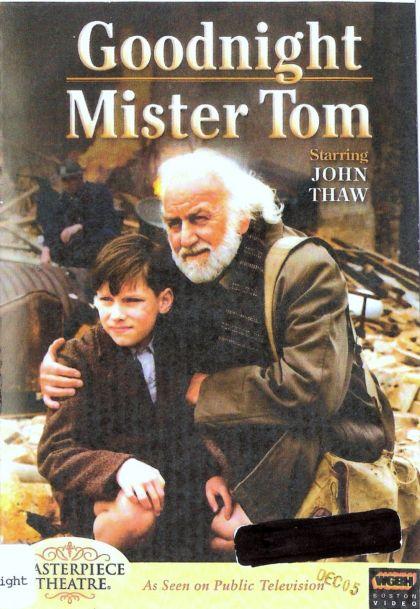 Goodnight mister tom essay