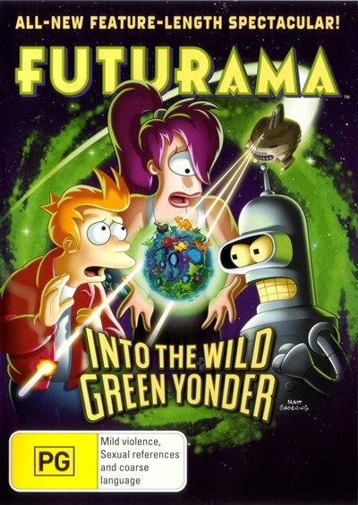 Futurama : Into The Wild Green Yonder