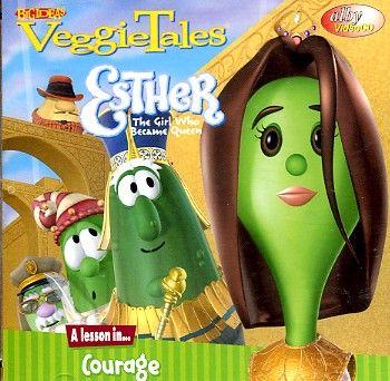 Veggietales Esther The Girl Who Became Queen VeggieTales: Esther, T...