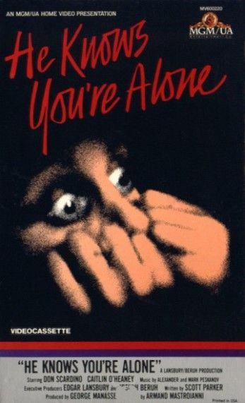 he knows youre alone 1980 on collectorzcom core movies
