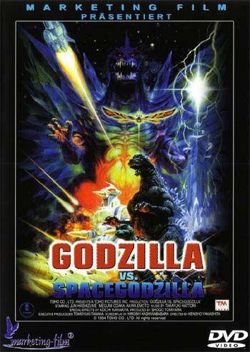 Godzilla Vs. Space Godzilla (1994) on Collectorz.com Core ...