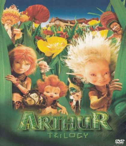 Arthur And The Invisibles 1 3 Blu Ray Dvd 2006 In Darren87 S Movie Collection Clz Cloud For Movies