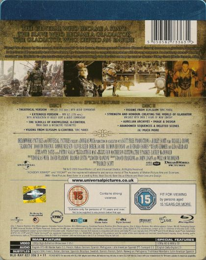 Gladiator (2000) in BUSYMOUSE's movie collection | CLZ Cloud