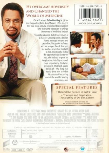 the life of ben carson in the inspirational novel gifted hands Gifted hands: the ben carson story by ben carson in djvu, doc, rtf download e-book.