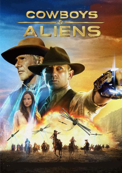 Cowboys & Aliens (2011) On Collectorz.com Core Movies