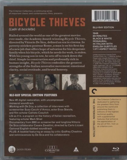 italian neorealism bicycle thief essays