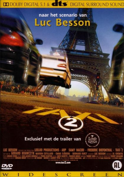 Taxi 2 2000 In Simplisico S Movie Collection Clz Cloud For Movies Taxi 2